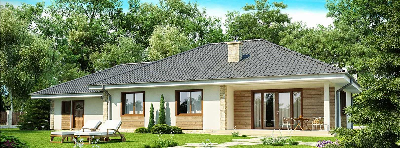 Projekt domu jednorodzinnego - A0010
